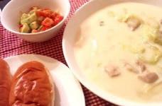 白菜の濃厚ホワイトシチュー