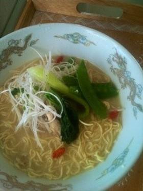 マルちゃん正麺チキンとんこつラーメン