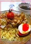 とろとろ味卵の海苔醤油つけ麺☆