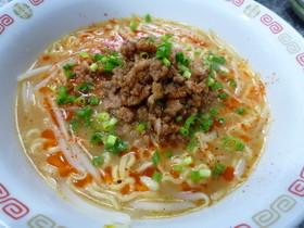 びっくり!美味しい!簡単タンタン麺