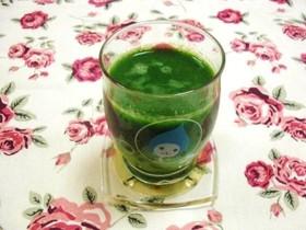 簡単小松菜リンゴジュース