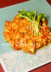 鶏肉トマトの中華入り卵