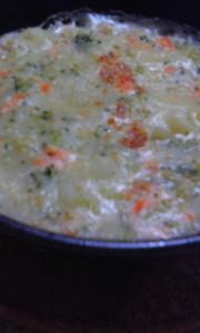 鮭とブロッコリーのポテトグラタン 離乳食の写真