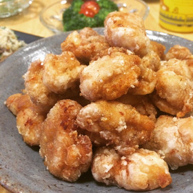 油少なめ!生姜と醤油だけ簡単★鶏の唐揚げ