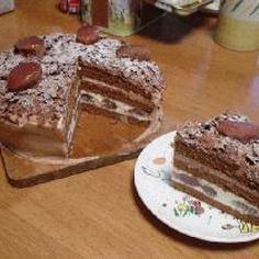 ゴージャス&甘さひかえめ!チョコレートケーキ