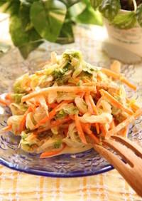 白菜いっぱいのサラダ