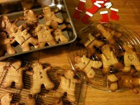 私のジンジャーブレッドクッキー