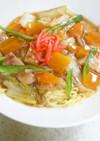 マルちゃん正麺であんかけラーメン