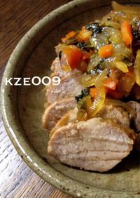 ストウブ♥レシピ【野菜いっぱい簡単煮豚】