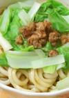 台湾家庭料理~そぼろラーメン(肉燥乾麺)