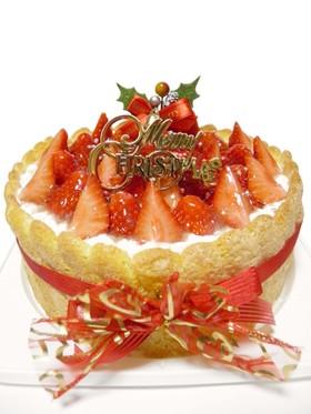 苺のレアチーズケーキ*ビスキュイ仕立て♪