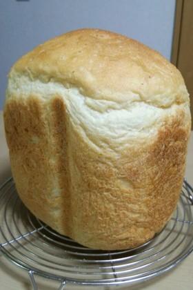HBで♪発芽玄米ご飯のふわもち食パン