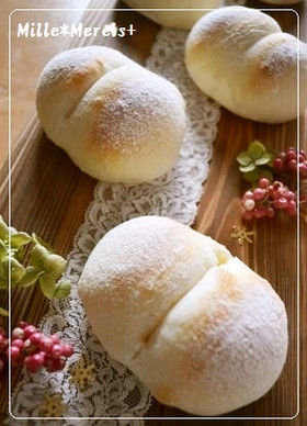 ご飯で作る酒種deふわうま白パン