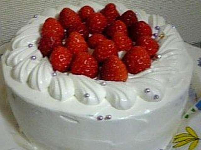 デコレーション ケーキ レシピ