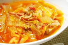 簡単*キャベツのトマトスープ