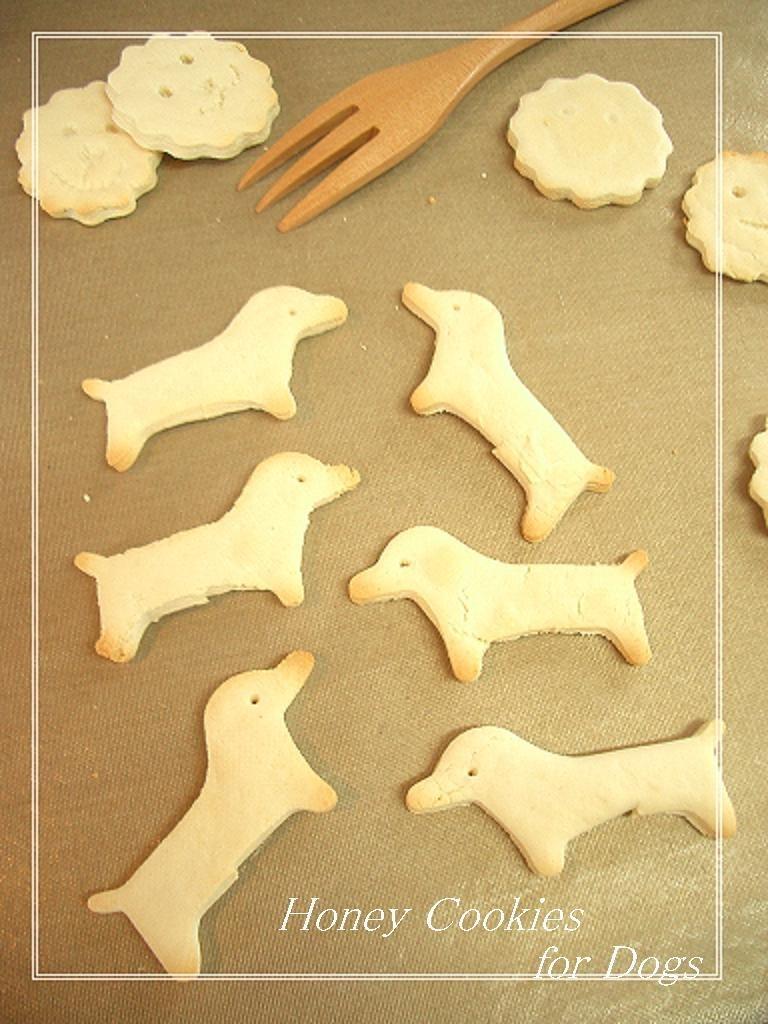 超簡単!犬用クッキー(ボーロ風)