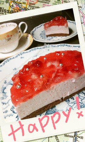誕生日ケーキ*ゼリエースで簡単