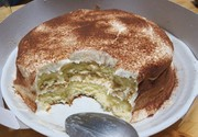 オーブンいらずの簡単クリームチーズケーキの写真