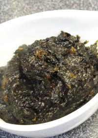 湿気た海苔が大変身☆海苔と梅の佃煮☆