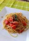 アンチョビとトマトのパスタ