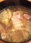 ⁂食べる白菜春雨スープ⁂