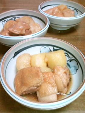 ジャガイモと鶏もも肉のてり煮