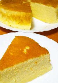 覚え書き*スフレチーズケーキ(分量表)