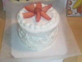 離乳食 1歳記念バースデーケーキ