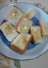 幼児食に!簡単バナナつぶしクリーム食パン