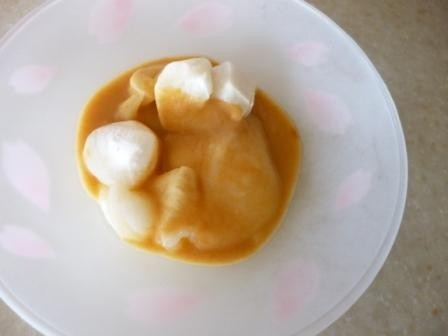 白味噌きな粉餅