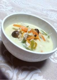 タイ料理の簡単グリーンカレー
