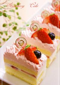 ⁂苺の☆モンブランショートケーキ⁂
