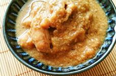 鶏肉と大根のごま味噌煮