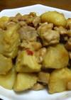 里芋と鶏肉の辛味噌煮っころがし