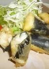 長芋とお餅の明太マヨチー春巻き