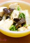 豆腐ときくらげのオイスターソース炒め♪