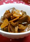 砂肝とこんにゃくのピリ辛ニンニク炒め