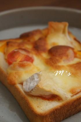 私の喫茶店風♪ピザトースト