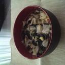 ピリ辛らっきょうの汁スープ
