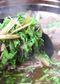 簡単!美味しいゴボウ鍋