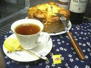 手作りパン◎アップルシナモンロールの写真