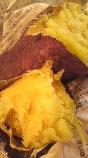 極み!電子レンジで焼き芋の写真