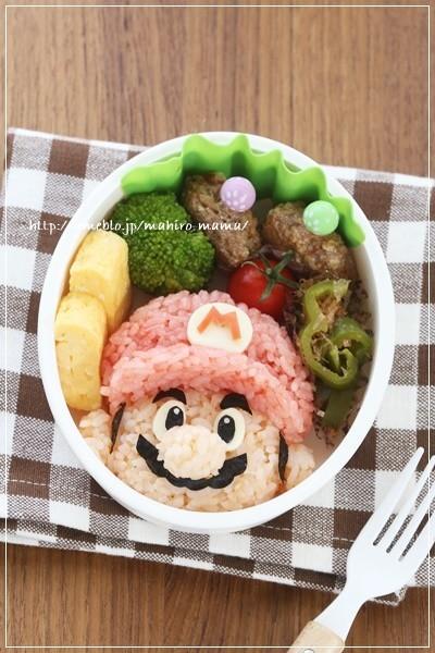 キャラ弁☆スーパーマリオ☆マリオ