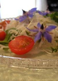 ボリジのサラダ