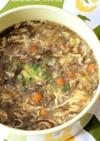 なめこ*もずく*とろろ~んな中華スープ♡