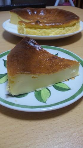 混ぜるだけ!簡単ベイクドチーズケーキ