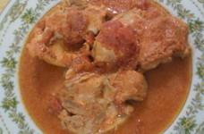 超簡単!鶏もも肉のトマトクリーム煮
