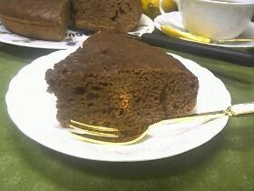 炊飯器ケーキ☆ココアケーキ