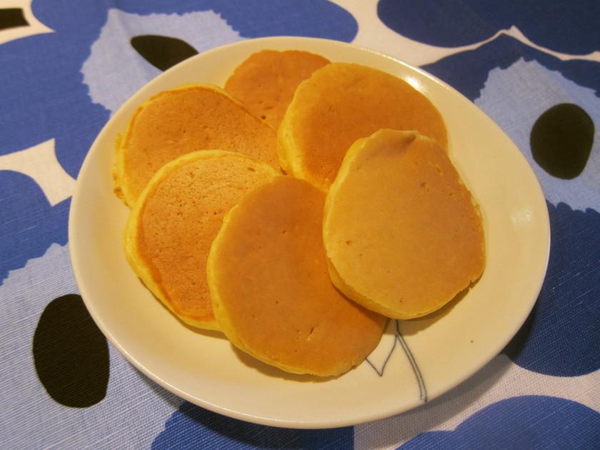離乳食に♥HM不使用のにんじんパンケーキ
