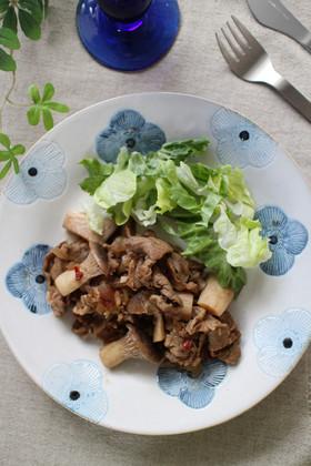 豚肉とエリンギのバルサミコ煮
